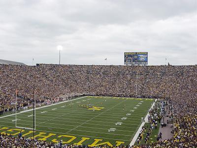 Michigan Stadium, 25 Sept 04