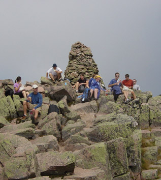 Maine Event atop Katahdin
