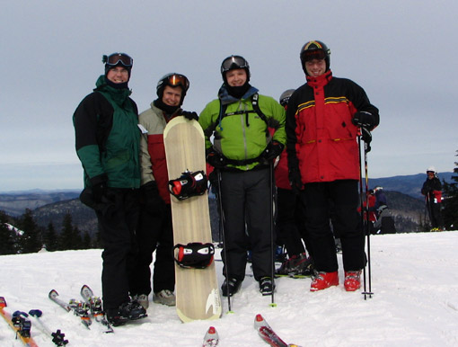 Four on Tremblant