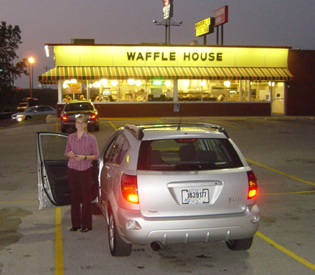 Jenelle, the Vibe, and the closest Waffle House to AA.